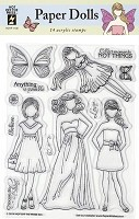 Hot Off the Press - Clear Stamps - Paper Dolls