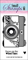 Hot Off the Press - Mini Clear Stamps - Camera