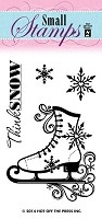 Hot Off the Press - Mini Clear Stamps - Ice Skates