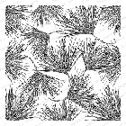 Impression Obsession - Cling Mounted Rubber Stamp - Cover A Card - Pine Sprigs