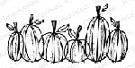 Impression Obsession - Cling Mounted Rubber Stamp - By Lindsay Ostrom - Pumpkin Pals