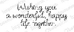 Impression Obsession - Cling Mounted Rubber Stamp - By Alesa Baker - Wonderful Life Together
