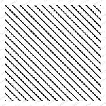 Impression Obsession - Cling Mounted Rubber Stamp - Cover A Card - Diagonal Stripes