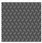 Impression Obsession - Cling Mounted Rubber Stamp - Cover A Card - Diagonal Weave