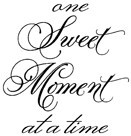 Impression Obsession - Cling Stamp - Sweet Moment - By Alesa Baker