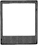 Impression Obsession - Cling Mounted Rubber Stamp - Picture This Small Stripe