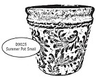 Impression Obsession - Cling Stamp - Summer Pot Small