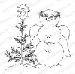 Impression Obsession - Cling Stamp - by Alesa Baker - Angelic Tree