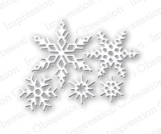 Impression Obsession - Die - Small Snowflake Set