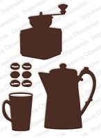 Impression Obsession - Die - Coffee Set