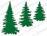 Impression Obsession - Die - Evergreen Trees