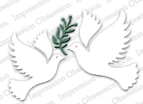 Impression Obsession - Die - Peace Dove