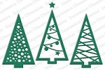 Impression Obsession - Die - Christmas Tree Cutout