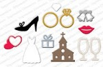 Impression Obsession - Die - Wedding Icons