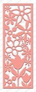 Impression Obsession - Die - Floral Panel Cutout