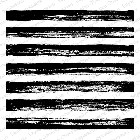 Impression Obsession - Cling Mounted Rubber Stamp - Cover A Card - Painted Stripes
