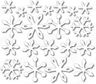 In The Making - Dee's Distinctively Die - Mini Snowflakes