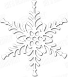 In The Making - Dee's Distinctively Die - Festive Snowflake