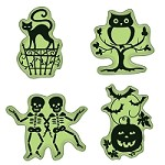 Inkadinkado - Cling Stamps - Halloween Icons