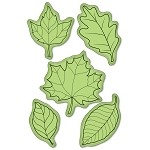 Inkadinkado-Cling Stamps-Fall Leaves