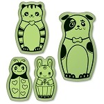 Inkadinkado-Cling Stamps-Pet Dolls