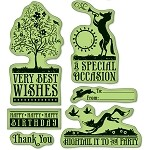 Inkadinkado-Cling Stamp-Woodland Celebrations