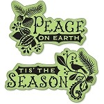 Inkadinkado-Cling Stamp-Folk Holiday Expressions