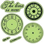 Inkadinkado-Cling Stamps- Nothing But Time