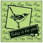 Inkadinkado - Cling Stamp - Today Is For You
