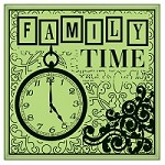 Inkadinkado - Cling Stamp - Family Time