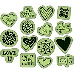 Inkadinkado - Cling Stamp - Little Icons