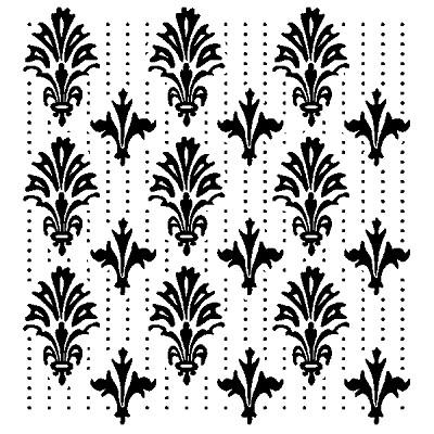 Inkadinkado Clear Stamps - Victorian Pattern
