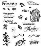 Inque Boutique - See D's  Unmounted Rubber Stamp Set  - Aging Gracefully