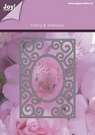 Joy Crafts - Lin & Lene Cutting & Embossing Die - Rectangle with Oval Frame