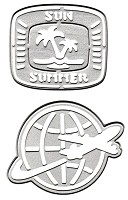 Joy Crafts - Lin & Lene Cutting & Embossing Die - Travel holiday Badges