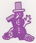 Joy Crafts - Merry's Cutting & Embossing Die - Christmas Snowman
