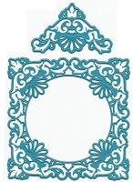 Joy Crafts - Cutting Die - Ornate Square Frame & Delicate Corners