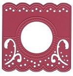 Joy Crafts - Die - Cutting and Embossing - Header Card - Round