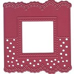 Joy Crafts - Die - Cutting and Embossing - Header Card - Square