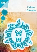 Joy Craft - Die - Cutting & Embossing Round Butterfly