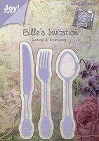 Joy Crafts - Bille's Invitation Cutting & Embossing Die - Spoon/Knife/Fork