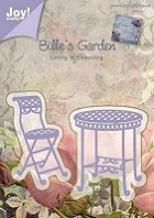 Joy Crafts - Bille's Garden Cutting & Embossing Die - bistro table and chair