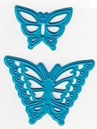 Joy Crafts - Noor! Cutting & Embossing Die - Small Butterflies (set of 2 dies)