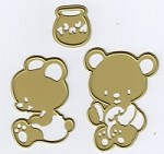 Joy Crafts - Cutting Die - Honey Bears (set of 3 dies)