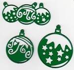 Joy Crafts - Noor! Cutting & Embossing Die - Christmas Balls (set of 3 dies)