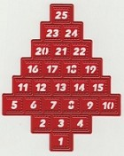 Joy Crafts - Merry's Cutting & Embossing Die - Advent Calendar