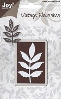 Joy Crafts - Die - Vintage Flourishes - Decorative Leaf Branch