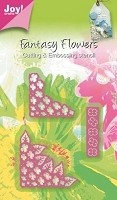 Joy Crafts - Die - 3D Fantasy Flower Corners