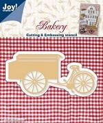 Joy Crafts - Die - Bakery - Cart