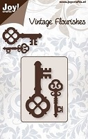 Joy Crafts - Die - Vintage Flourishes - Cutting Keys 2